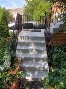 After Photo of Completed Stairs